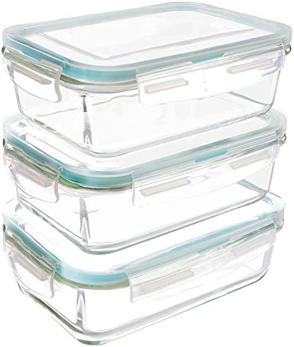 Utopia Kitchen Glass Food Storage Container Set