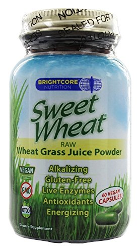 Sweet Wheat Large Capsules Brightcore Nutrition 60 Caps