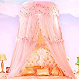 Mosquito Net Bed Canopy For 1.2-2m Bed Fly Insect Protection Indoor Decorative Height 3.4m Top Diameter 1m,2m