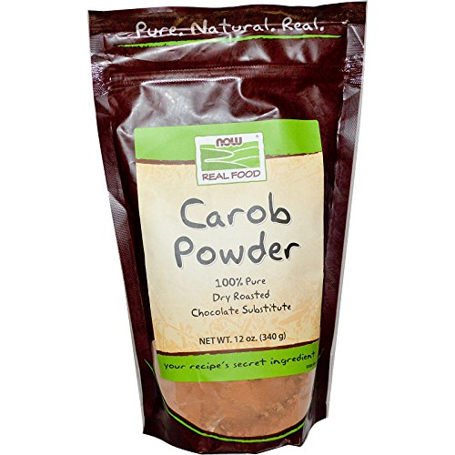 Powder Carob Oz 12 (Now Foods, Real Food, Carob Powder, 12 oz (340g) - 3PC)