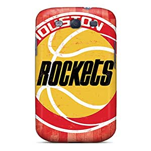 Hot Style ZBU2664ORNT Protective Cases Covers For Galaxys3(houston Rockets)