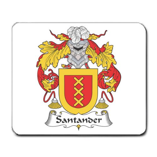 santander-family-crest-coat-of-arms-mouse-pad