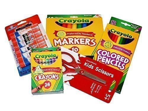 Basic Crayola Back School Bundle