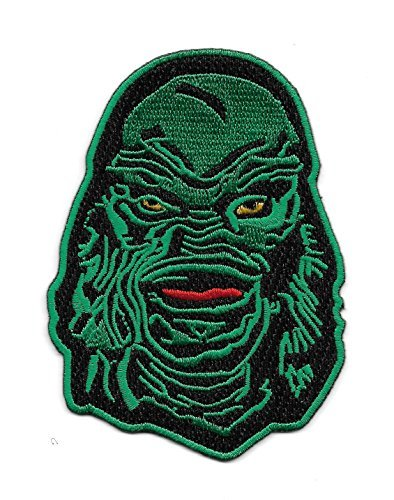 Green Creature Monster Patch Version B