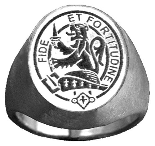 Scottish Clan Crest Ring GC500 Style - Clan Crest Ring