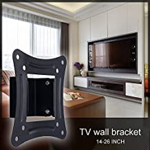 Henweit TV Wall Mount Bracket - New Slim Line Design For 14 - 26 inch TV Screens, Fits LED, LCD & Plasma, Max VESA 100mm x 100mm (Please check TV VESA Mounting Holes Before Purchase)