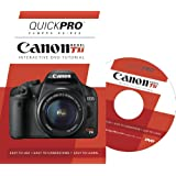 Canon Rebel T1i Instructional DVD by QuickPro Camera Guides
