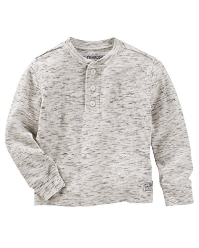 ac9fa2479 OshKosh B'Gosh Boys' Long Sleeve Raglan Henley - Buy Online in Oman. |  Apparel Products in Oman - See Prices, Reviews and Free Delivery in Muscat,  Seeb, ...