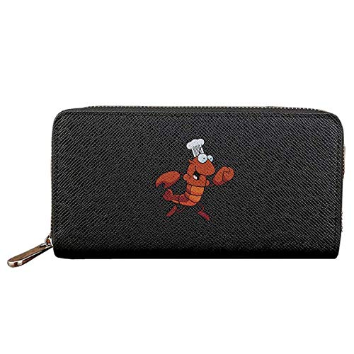 Long Fashion Purse Chef Loer Mascot PU Wallets Credit Card Clutch Huge Storage Capacity (Mascot Baby Mobile)