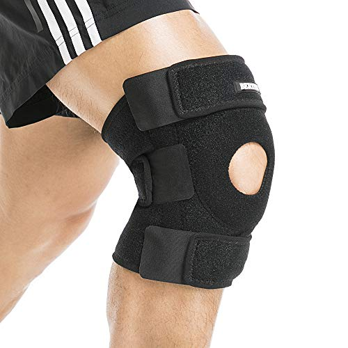 BERTER Knee Brace Open Patella Stabilizer Neoprene Knee Support Men Women Running Basketball Meniscus Tear Arthritis Joint Pain Relief ACL