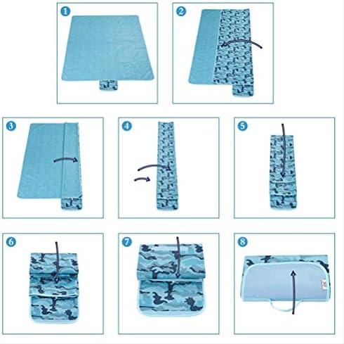 wtxinyang Tappetino da Picnic Forniture per Esterni A Prova D'Umidità Tappetino per Tenda Tappetino per Erba Ampliamento Tessuto da Picnic 145X80Cm C