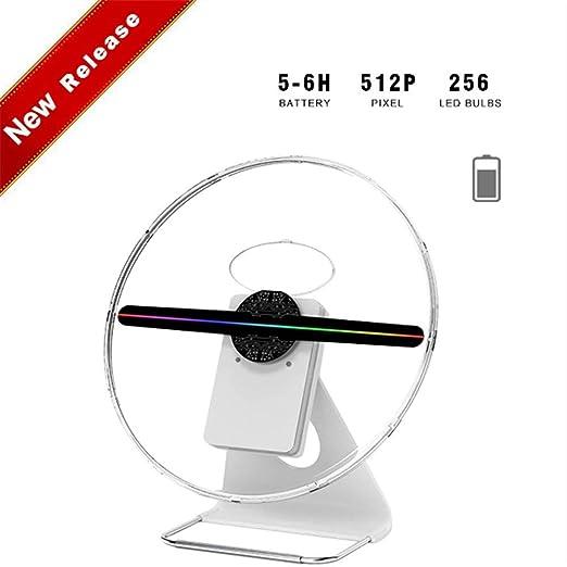 ALDD Holograma 3D proyector de la exhibición Ventilador de ...