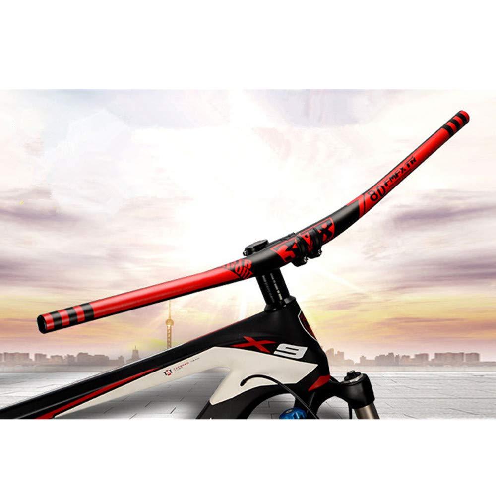 Bici da Strada 31.8mm 720mm // 31.8mm 780mm Mountain Bike da Corsa a Lunga Distanza Corse da Viaggio Relax e Riposo Yzibei Durevole Manubrio Bici Manubrio in Lega di Alluminio Riser per MTB