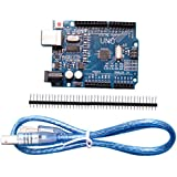 Giveme5 Hight Quality Compatible UNO R3 Development Board for Arduino, ATmega328P