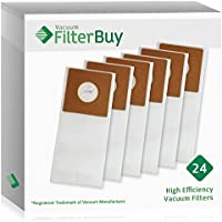24 FilterBuy Bissell 3267 Replacement Bags. Designed by FilterBuy to fit Bissell Velocity Upright Vacuum Cleaners.