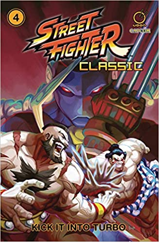 Street Fighter Classic Volume 4: Kick it into Turbo: Amazon.es: Ken Siu-Chong, Jeffrey Chamba Cruz: Libros en idiomas extranjeros