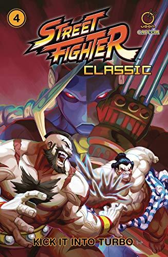 Street Fighter Classic Volume 4: Kick it into Turbo