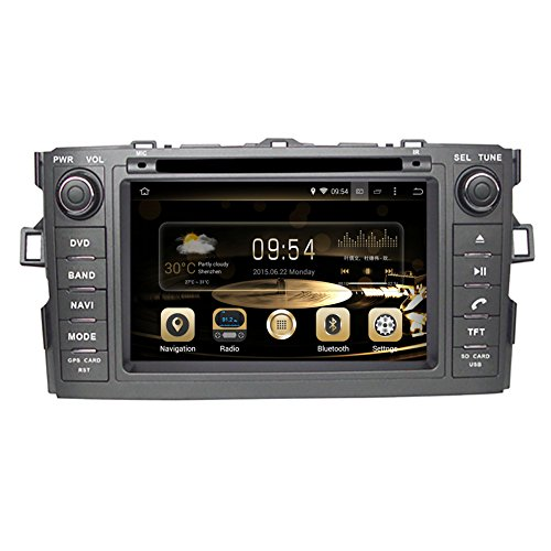 Stereo Hatchback System - GPS Navigation Android 7.1 Car Stereo CD DVD Player In Dash Radio with 7