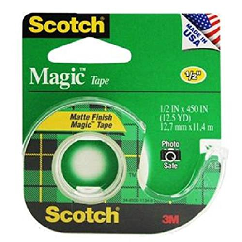 Product Of Scotch, Magic Tape Green, Count 1 - Scotch Tap / Grab Varieties & Flavors