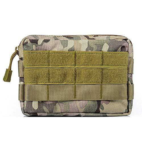 ZhangHongJ,Armée multifonctionnelle fan accessoire sac petit sac extérieur sac de rangement portefeuille mobile(color:CP,size:15 * 3,5 * 10)