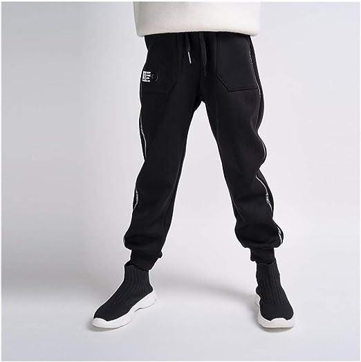 SUIWO Pantalones de fitness para niño Pantalones elásticos ...