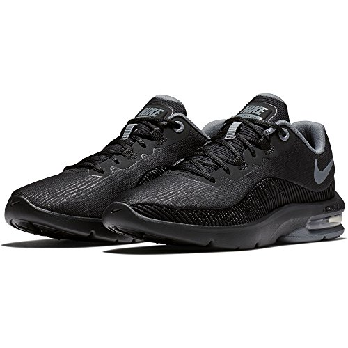 NIKE Air Max 002 Chaussures WMNS Cool de Compétition Black Advantage Grey Running Noir Femme 2 rAqcFrT