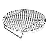 Round Shape Cooling Rack Chrome-Plated Cross-wire Cooling Rack, Wire Pan Grate, Baking Rack, Icing Rack