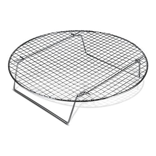 Round Shape Cooling Rack Chrome-Plated Cross-wire Cooling Rack, Wire Pan Grate, Baking Rack, Icing Rack by Cooling Racks