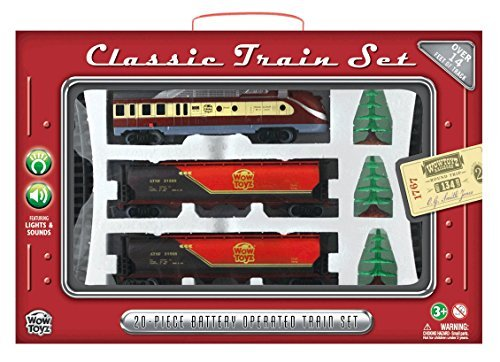 WowToyz Classic Train Set - Diesel Engine with Tanker Cars ()