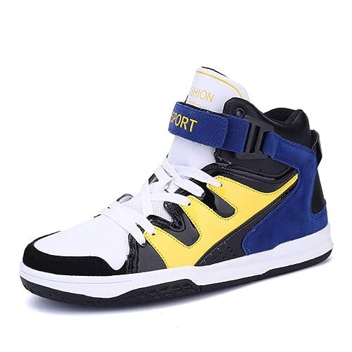 High Schuhe Top Leder Männer AtmungsAktive Sneakers Sport 0vN8nmwO