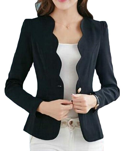 Women/'s Ladies Fashion Slim Fit Casual Business Blazer Suit Jacket Coat Outwear