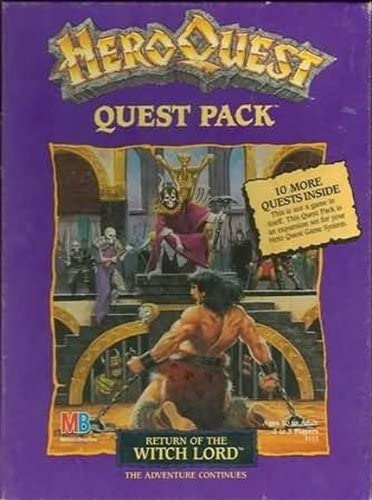 Return of the Witch Lord (Heroquest Quest Pack) by Milton Bradley: Amazon.es: Juguetes y juegos