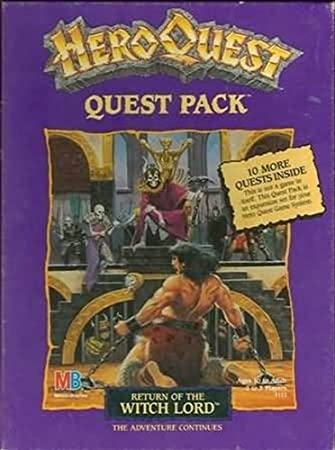 Return of the Witch Lord (Heroquest Quest Pack) by Milton Bradley ...