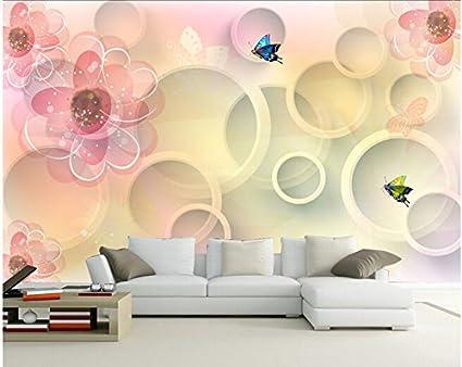 Salotto Moderno Grande : Malilove custom 3d grande murale disegnato a mano di disegno moderno
