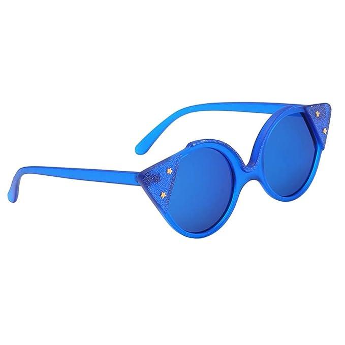 Baoblaze Gafas de Sol Ojos de Gato Lentes Trigangulares ...