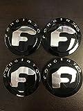 FORGIATO GLOSS BLACK wheel caps (set Of 4)