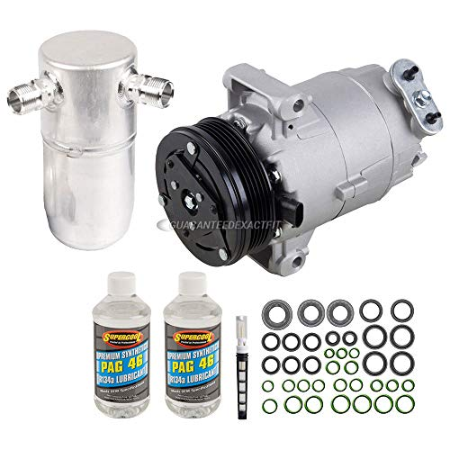 AC Compressor w/A/C Repair Kit For Chevy Cavalier & Pontiac Sunfire - BuyAutoParts 60-80323RK New