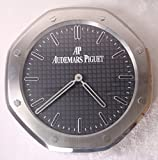 Audemars Piguet Silent Sweep Wall Clock, Silver+Black