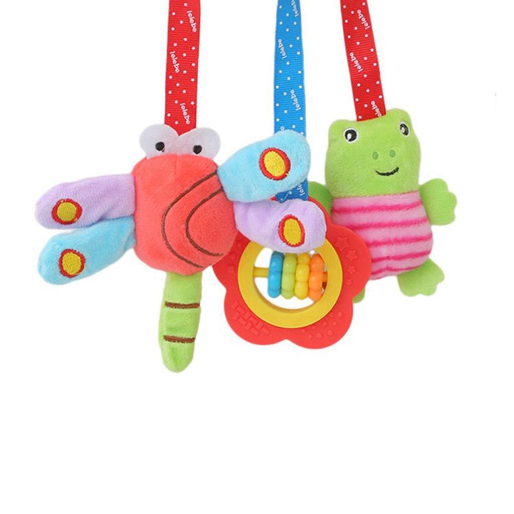 Ogquaton /Lit de b/éb/é landau spirale hochets jouets poussette pendaison /él/éphant cr/éatif et utile