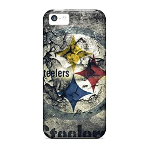 LastMemory Case Cover Protector Specially Made For Iphone 5c Pittsburgh Steelers