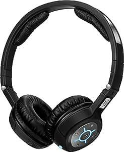 Sennheiser MM 400-X - Auriculares de diadema abiertos, color negro