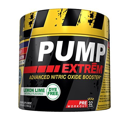 Promera Health Pump Extreme Diet Supplement, Lemon Lime, 32 Servings by CON-CRET by CON-CRET