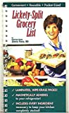 img - for Lickety-Split Grocery List by RD Zonya Foco (2000-05-04) book / textbook / text book