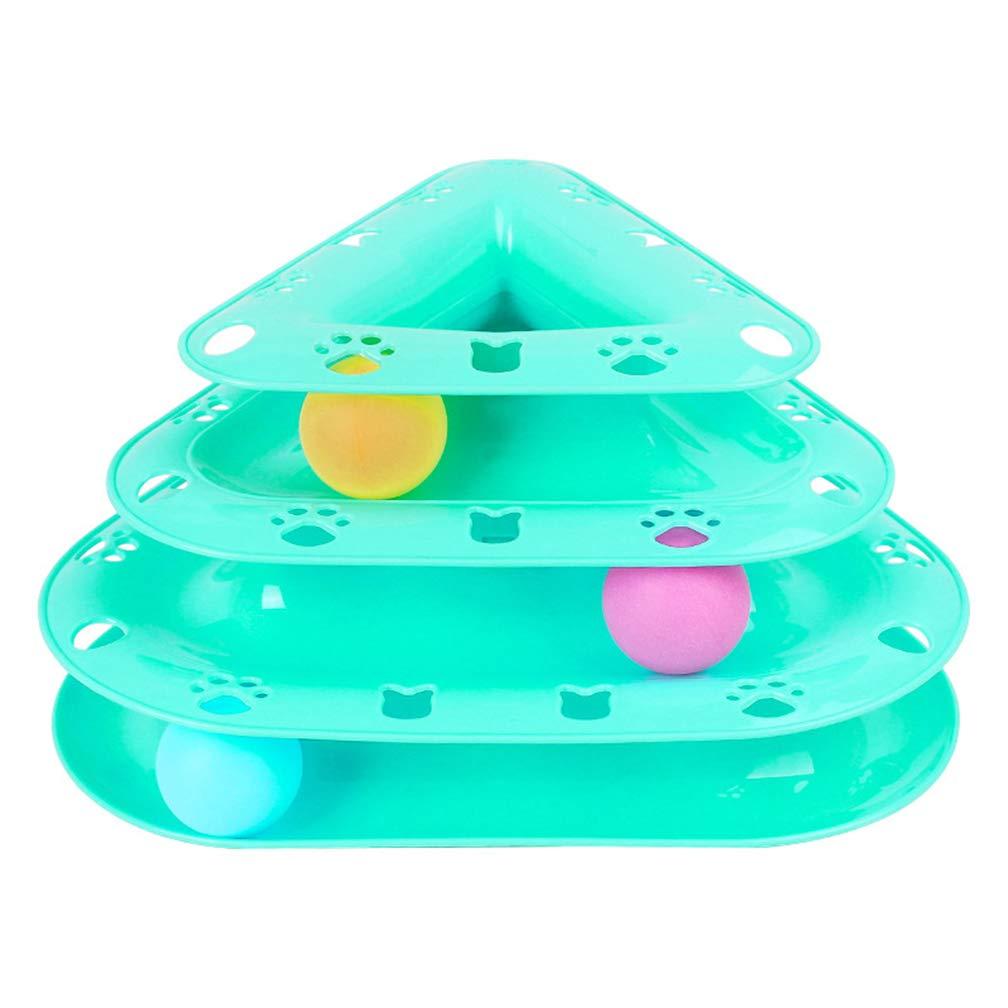 Tolyneil - Tocadiscos de Tres Capas con Bolas de Colores, Juguete ...