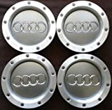 audi a6 wheel center cap - REPLACEMENT PART: Set 4 pcs AUDI A3 A4 A2 TT WHEEL CENTER CAPS RIM HUB CAP 146mm 8D0601165K