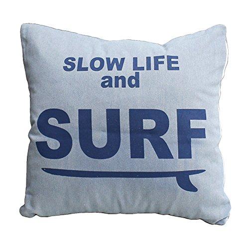 デニムクッション SURF