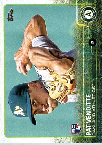 2015 Topps Update #US81 Pat Venditte Baseball Rookie Card