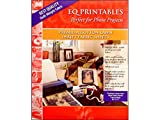 Electric Quilt Company Printables Inkjet Cotton Lawn 6pc PrintablesInkjetCottonLawn6 (EQCPCL811)