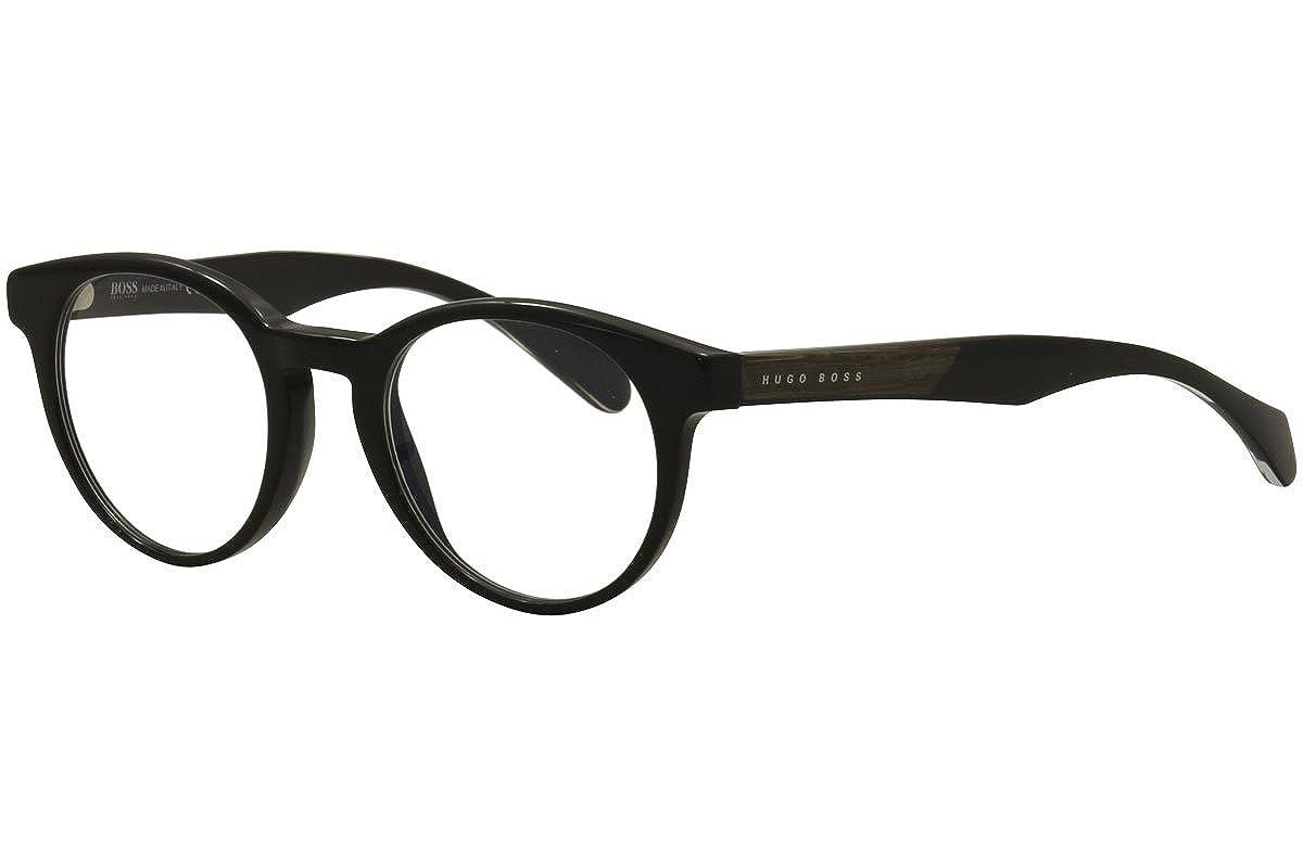 feac2c60f2 HUGO BOSS Eyeglasses 0913 01YS Black at Amazon Women s Clothing store