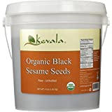 Kevala Organic Black Sesame Seeds 4 Lb (1.81kg) (RAW)
